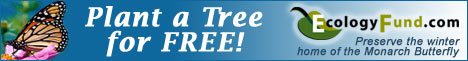Plant a Tree for FREE - EcologyFund.com!